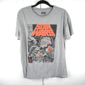 Star Wars Death Star Distressed Comic Book T Shirt